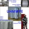 UHMWPE fiber mooring rope glove/socks armour bulletproof helmet